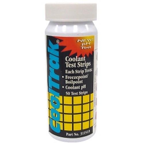 Cool-Trak 311519 CoolTrak'¢ Coolant Test Strip - 50 Per Bottle