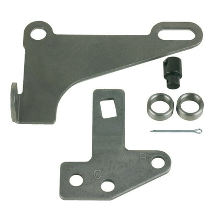 B&M 75498 Bracket and Lever Kit For 4L60E/4L80E
