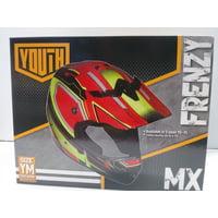 Fuel Helmets Youth Frenzy Or Helmet Red/yellow Yth M