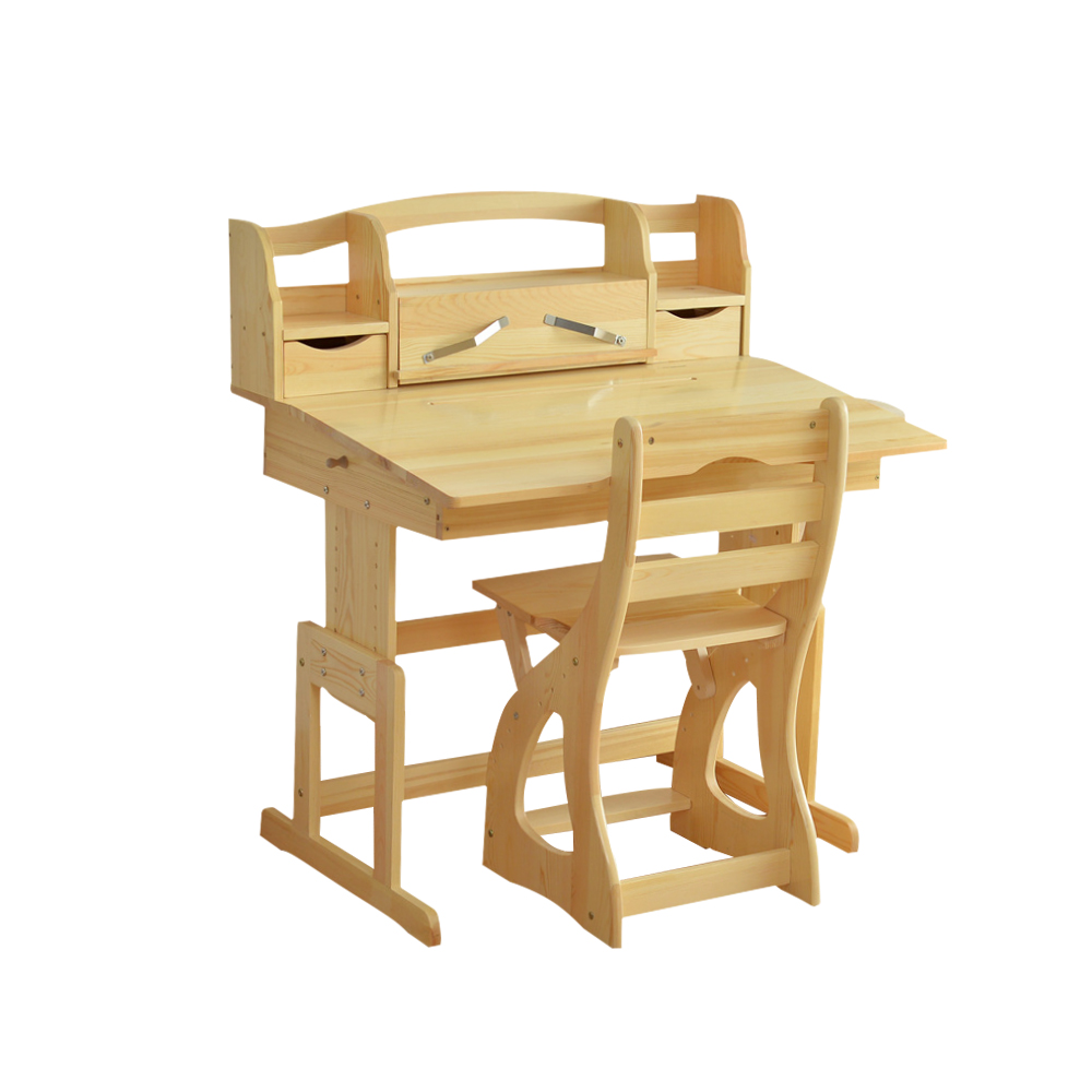 TGEG Kids Desk and Study Table New Zealand Pine Wood