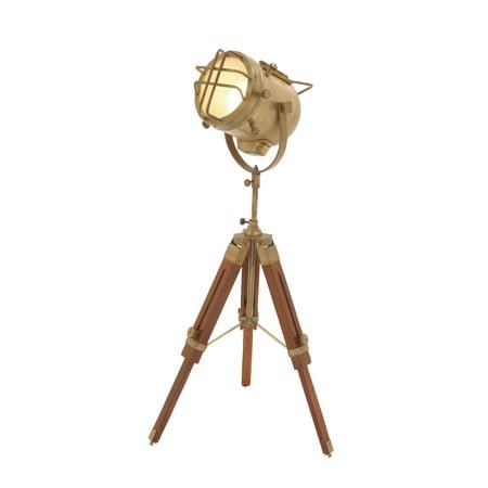 24482 Brass Wood Spot Light