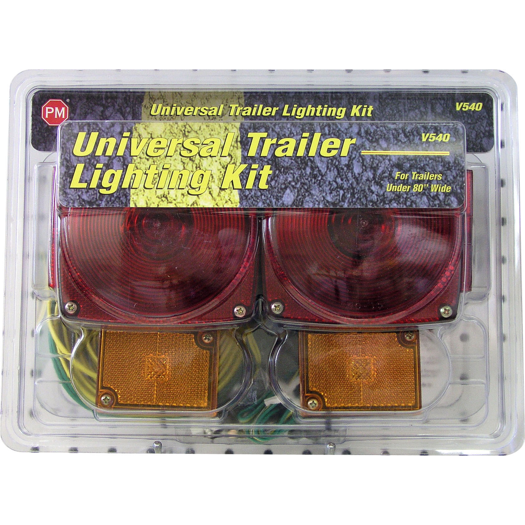 PM V540 Trailer Light Kit Package