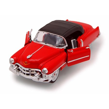 1953 Cadillac Eldorado, Red - Welly 22414 - 1/24 scale Diecast Model Toy (1953 C Two Dollar Bill Red Seal Value)