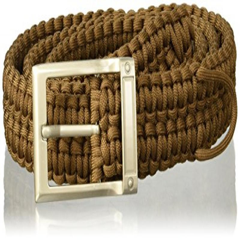 Stone River Gear Paracord Survival Belt, Olive, X-Large