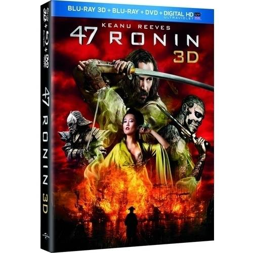 47 Ronin (Blu-ray 3D + Blu-ray + DVD + Digital HD) (With INSTAWATCH) (Anamorphic Widescreen)