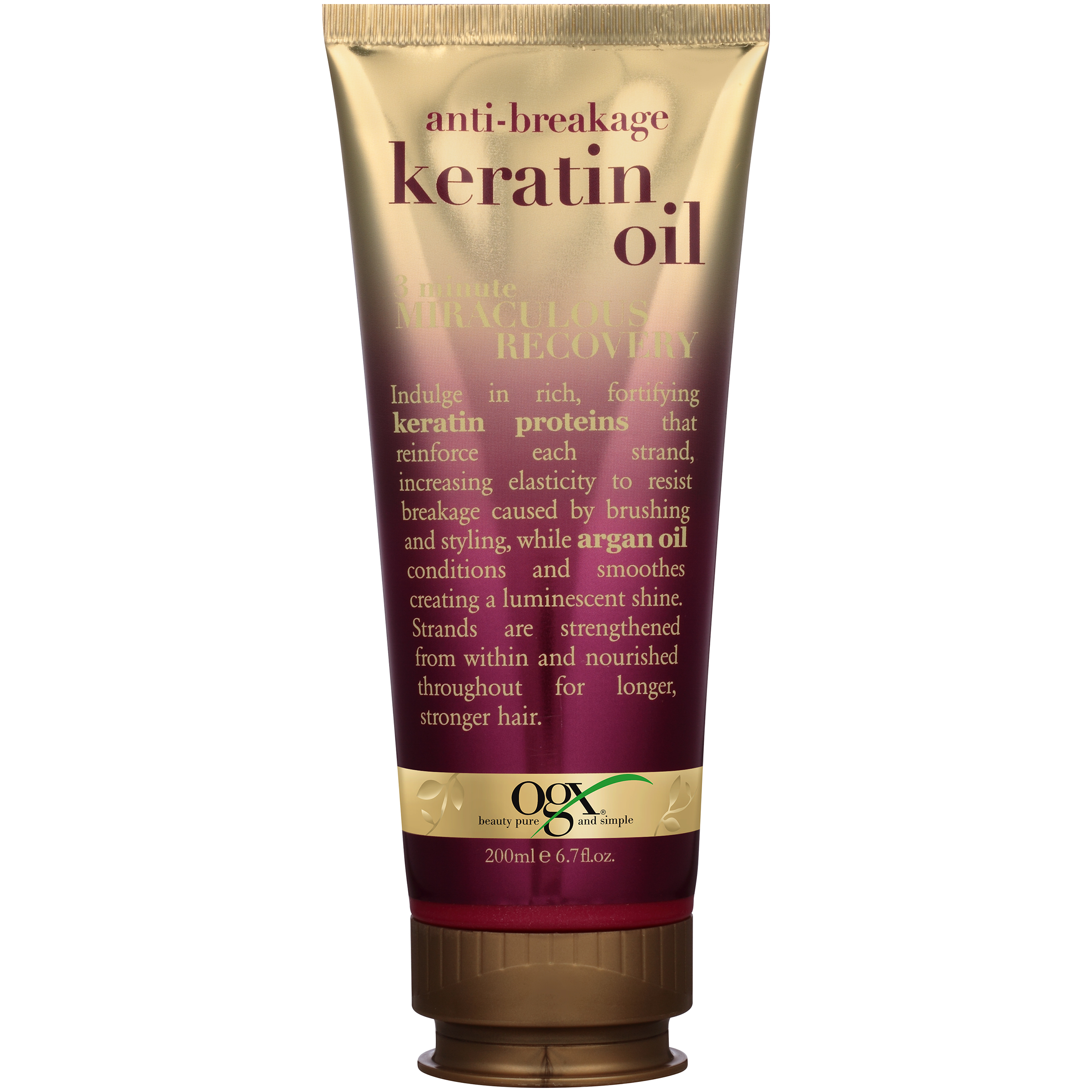 OGX® Anti-Breakage Keratin Oil 3 Minute Miraculous Recovery 6.7 fl. oz. Tube
