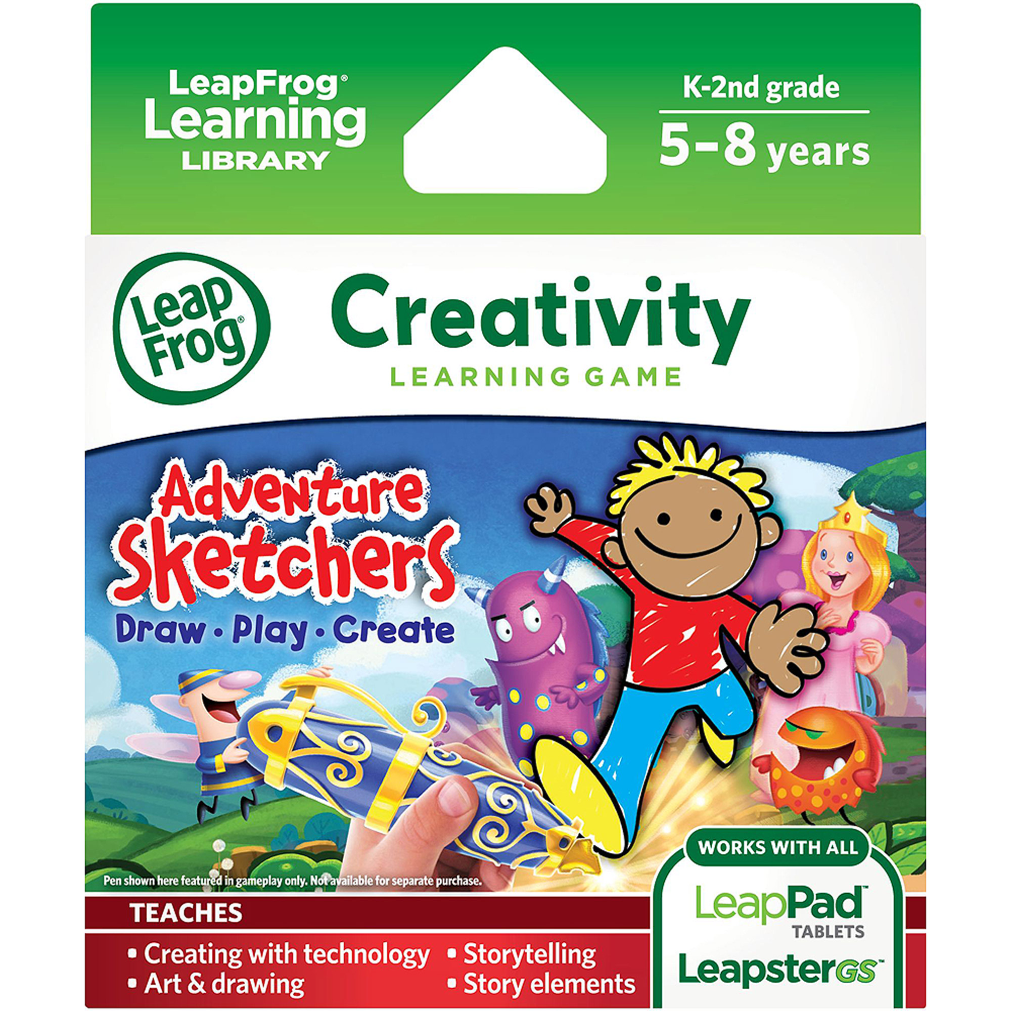 LeapFrog Explorer Learning Game: Adventure Sketchers! Draw, Play, Create