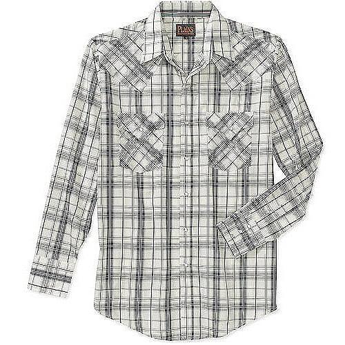 Plains Men's Tall Long Sleeve ??Western Shirt