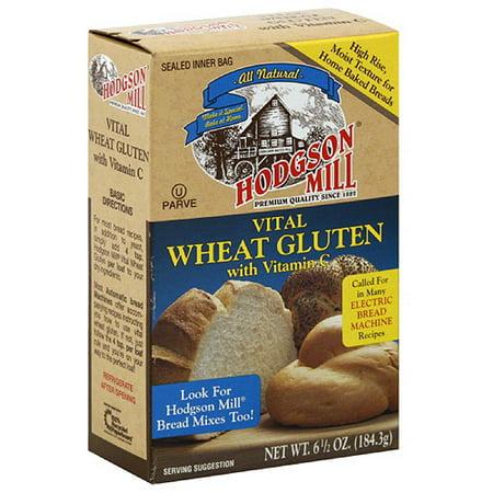 Hodgson Mill Vital Wheat Gluten, 6 5 oz, (Pack of 8)