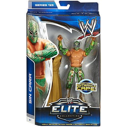 Mattel WWE Wrestling Elite Series 25 Sin Cara Action Figu...