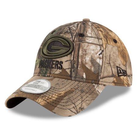 Green Bay Packers New Era Nfl 9Twenty  Realtree Camo  Adjustable Hat