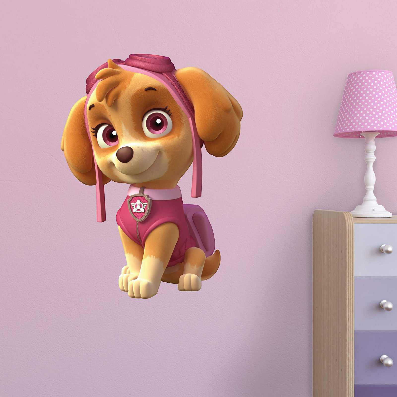 Fathead PAW Patrol Skye Junior Wall Decal