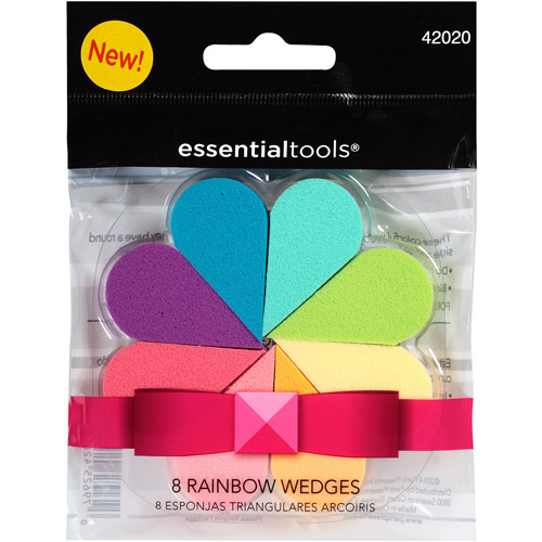 Essential Tools Rainbow Wedges, 8 count