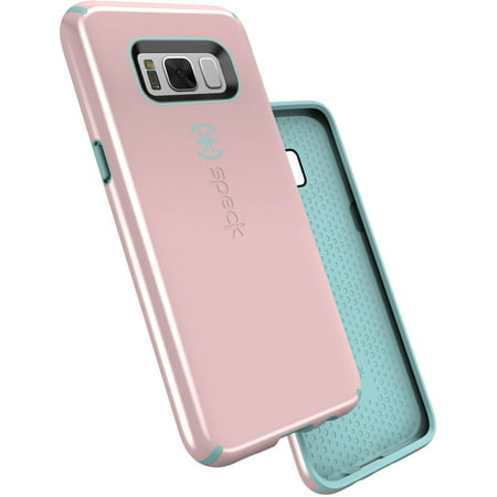 Speck CandyShell Case for Samsung Galaxy S8, Quartz Pink/River Blue