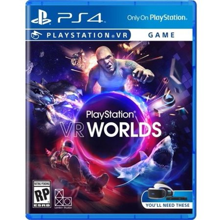London Studio Playstation VR Worlds, Sony, PlayStation 4, (Best Games To Play On Ps Vita)
