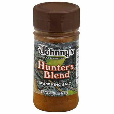 Johnnys Hunters Blend Seasoning Salt  8 5 Oz   Pack Of 6