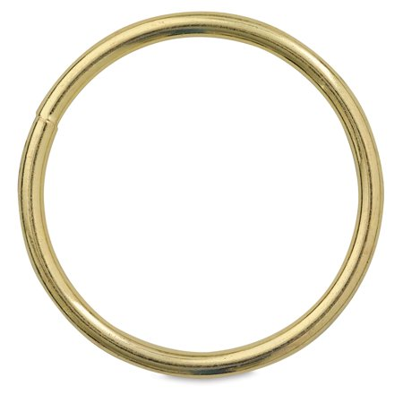 Gold-Tone Welded Macramé (Macrame Ring Lace)