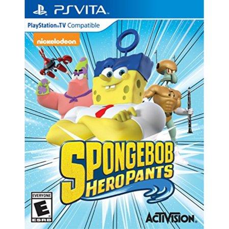 spongebob hero pants the game 2015 - playstation vita](Games Halloween Spongebob)