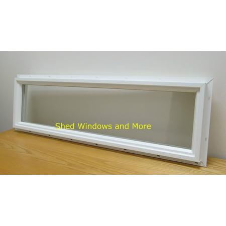 Transom Window 10 X 36 Double Pane Insulated Pvc Frame Walmartcom
