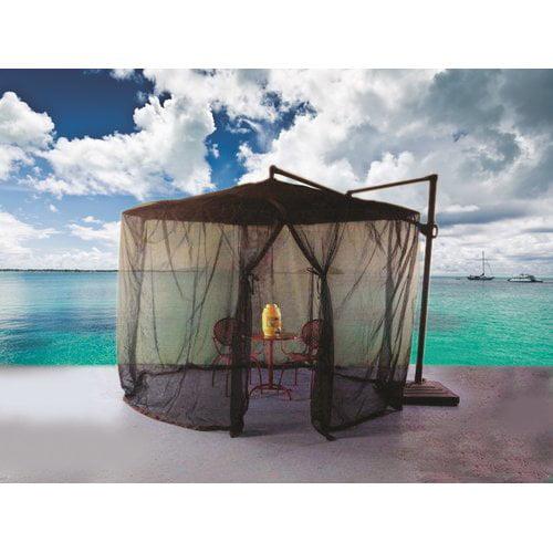 Shade Trend Cantilever Mosquito Umbrella Netting