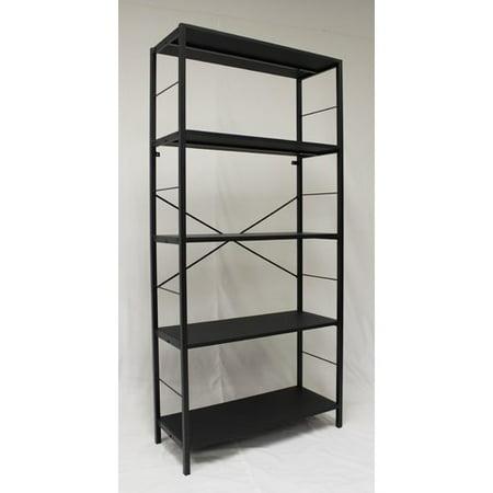 Ebern Designs Lavinia 4 Tier Etagere Bookcase