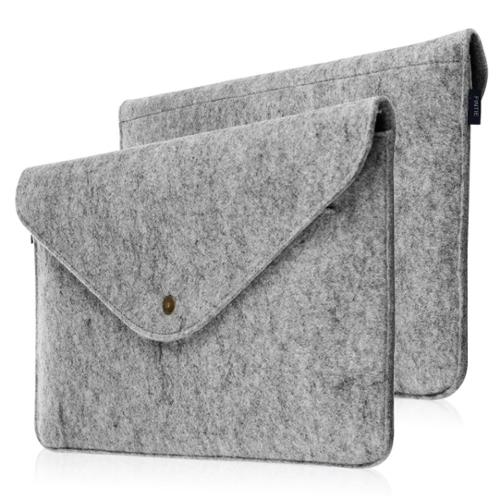 "Apple MacBook Air 13"" Laptop Sleeve Case - Fintie Felt Carrying Protector Case Cover Bag with Card Slot, Gray"