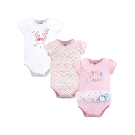 Bodysuits 3Pk (Baby Girls)](Inflatable Onesie)