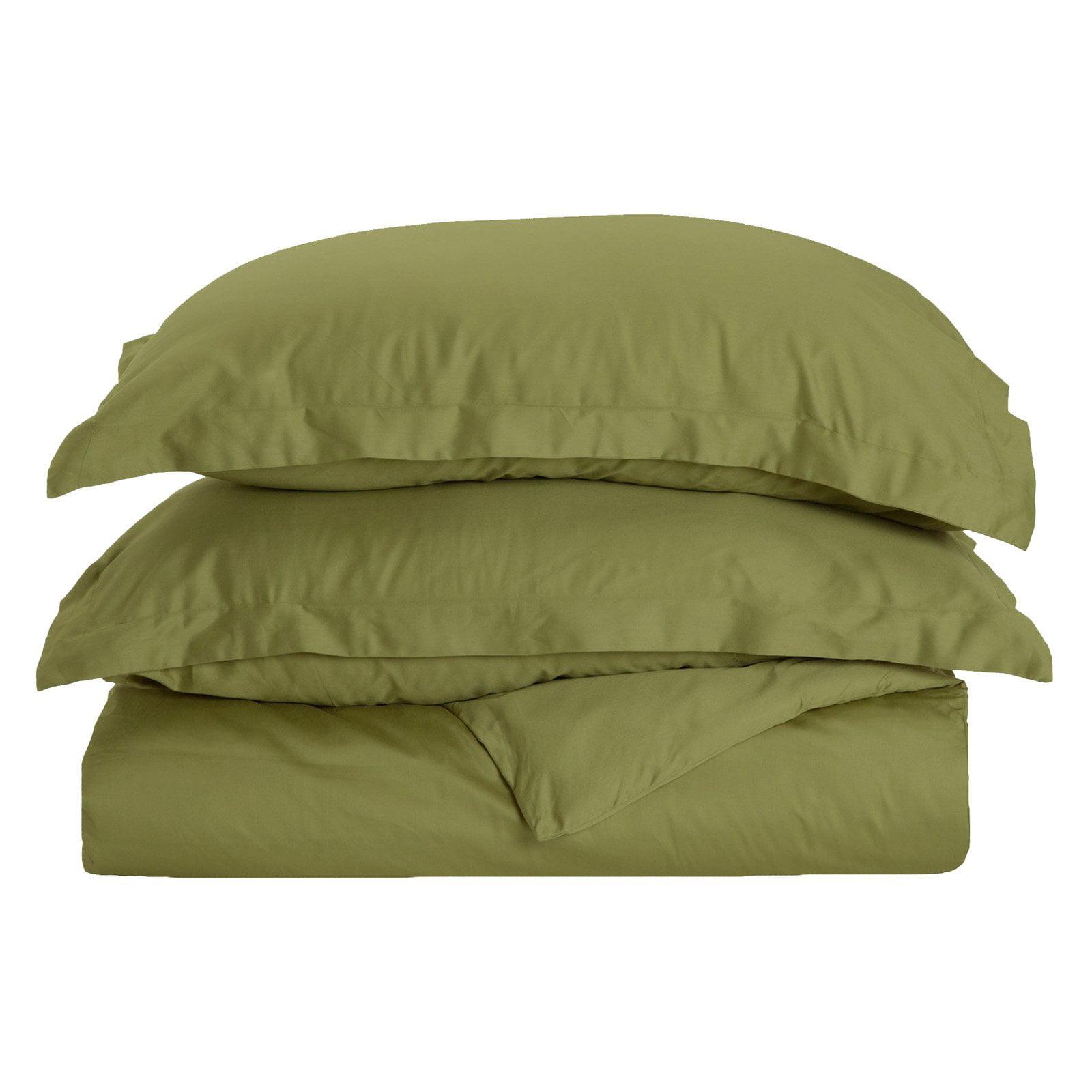 Superior 400 Thread Count Long-Staple Combed Cotton Duvet Cover Set