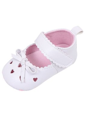 b79186227810 Product Image Nicesee Girl Infant Leather Anti-Slip Soft Sole Shoes