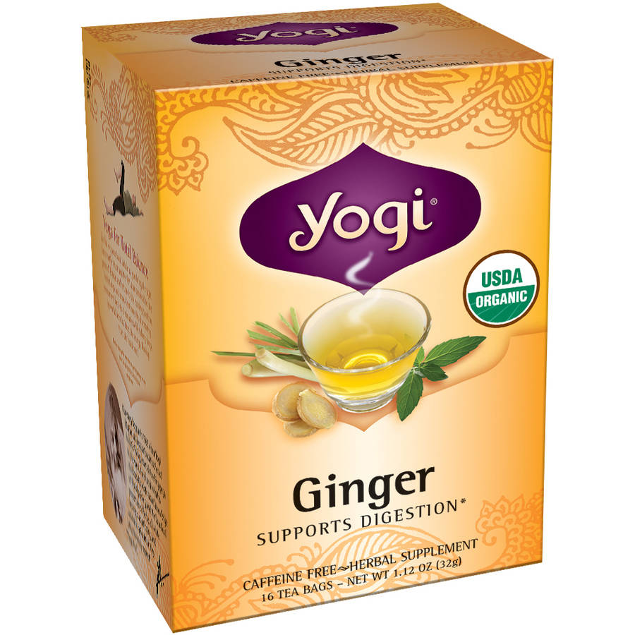 Yogi Ginger Tea Bags, 16 count