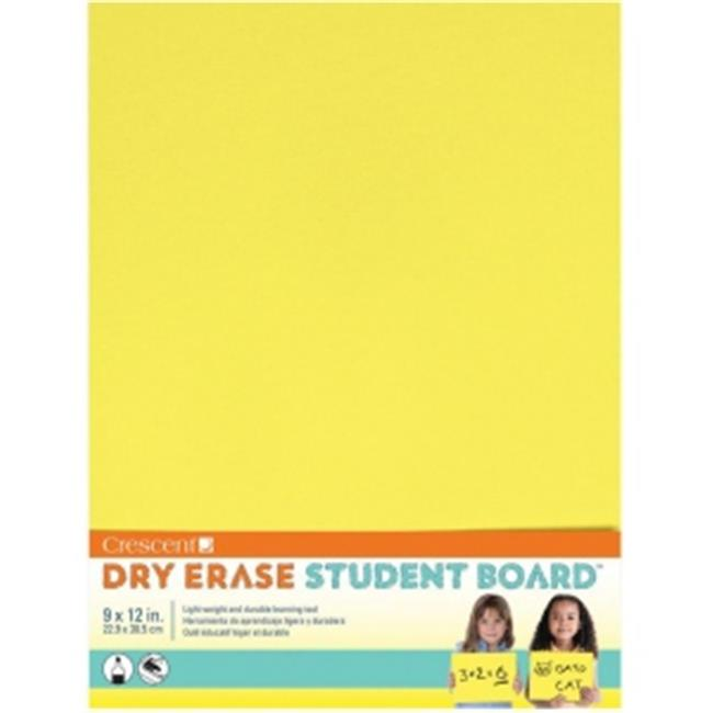 Crescent C12-403 Dry Erase Board, Yellow
