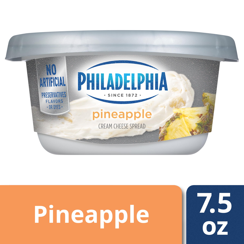 Philadelphia Pineapple Cream Cheese Spread 7.5 oz Tub