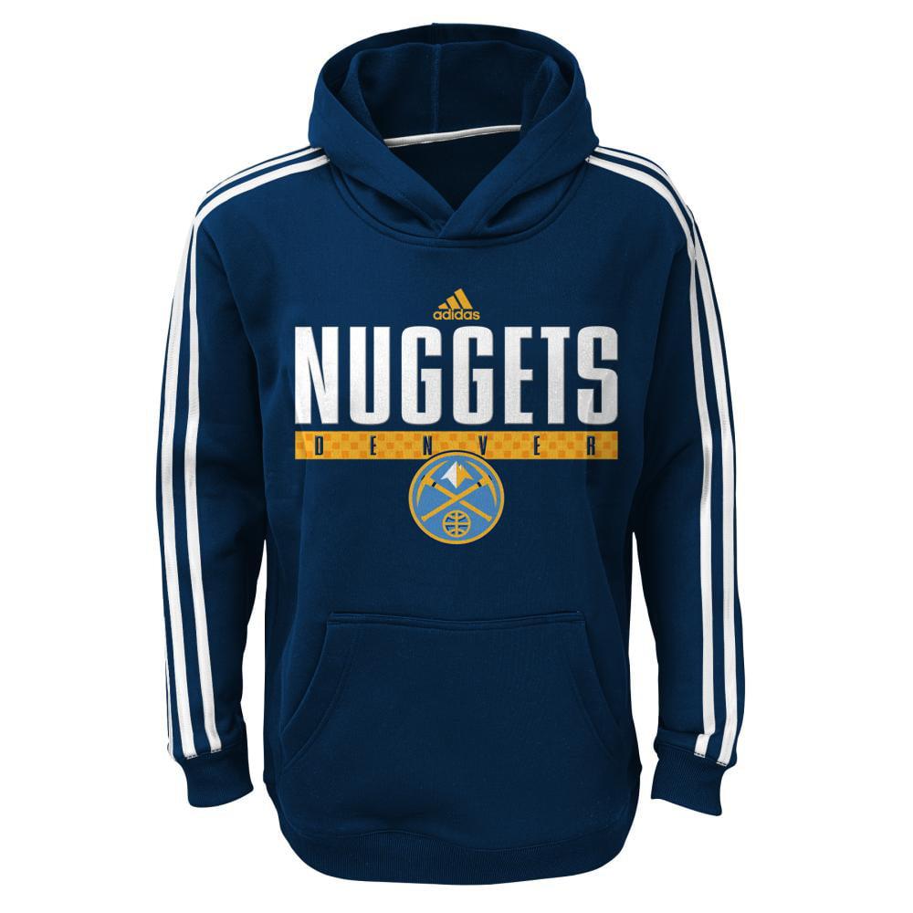 Denver Nuggets Youth Tip Off Playbook Hoodie (Navy)