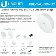 Ubiquiti PBE-5AC-300-ISO 5GHz PowerBeam airMAX AC 300mm RF Isolated Reflector