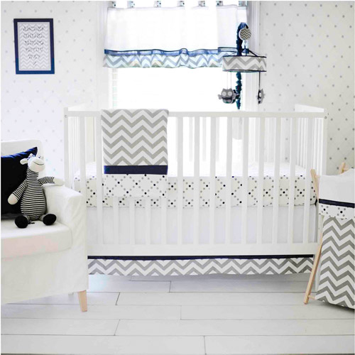 Out of the Blue 3-Piece Crib Set