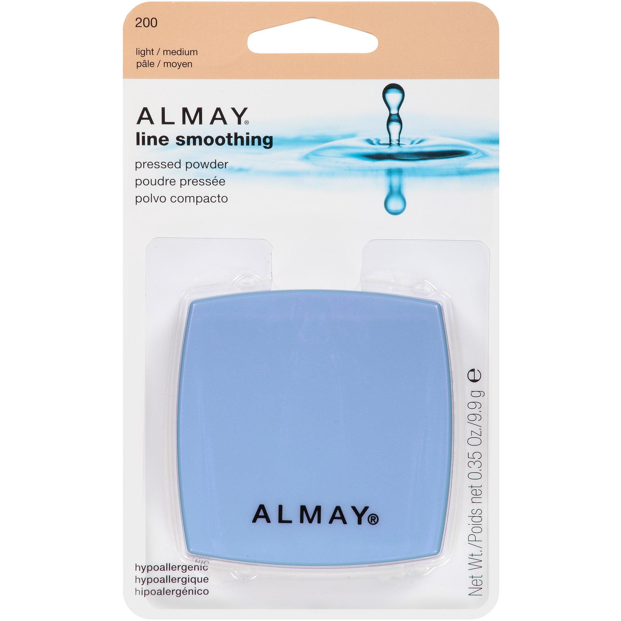Almay Line Smoothing Pressed Powder 200 Light Medium 0