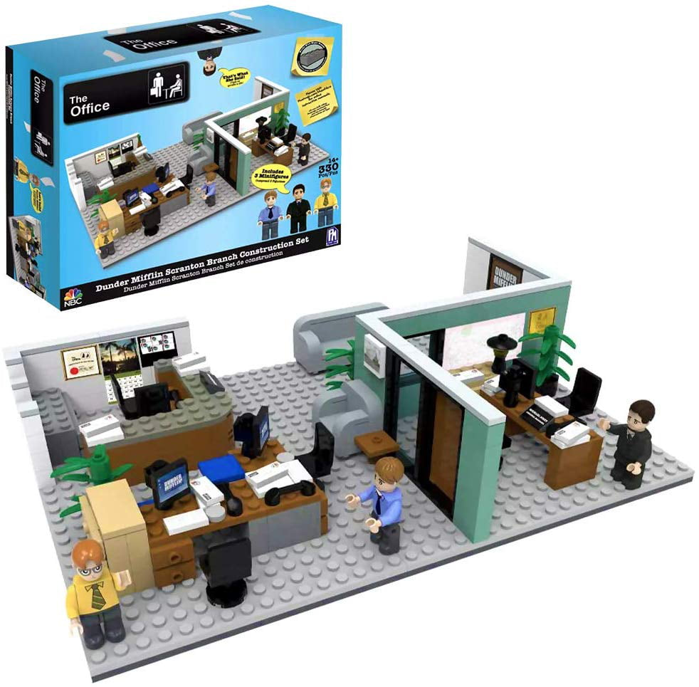 The Office Dunder Mifflin Scranton Branch Construction Set Walmart Com Walmart Com
