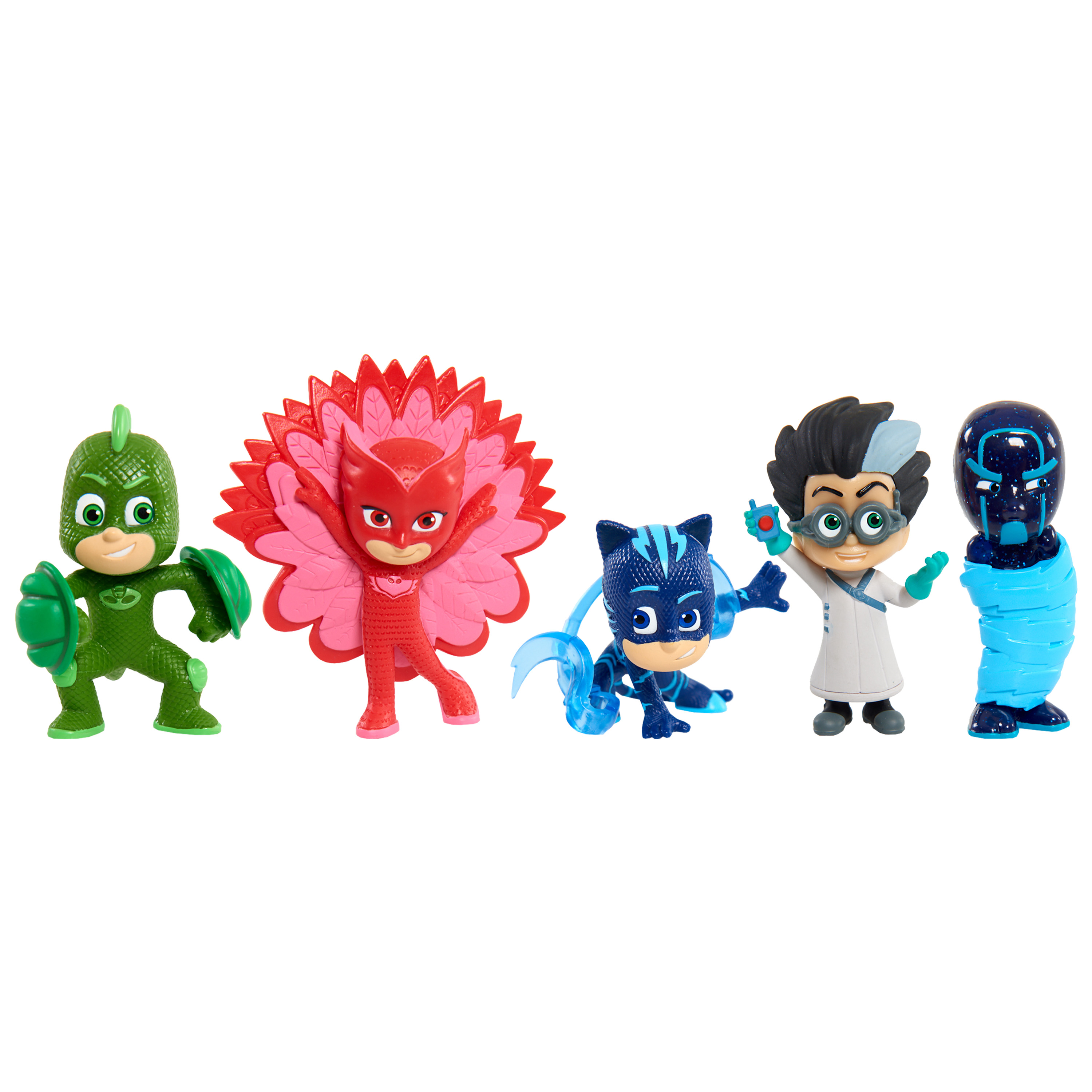 PJ Masks Collectible Figure Set - 5 Pack