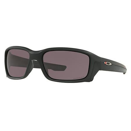 Oakley SI Straightlink Thin Red Line Sunglasses, Matte Black Frames w/ Prizm  Grey Lens - Matte Black Frames w/ Prizm Grey Lens (Oakley Lenses Goggle)