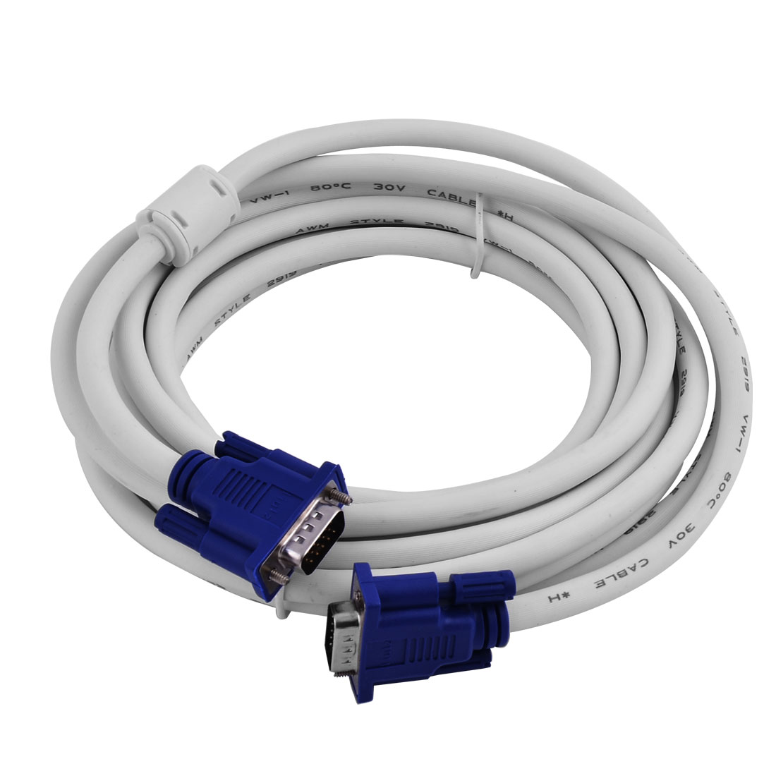 Laptop Vga Reduce 15 Male To A 9 Prong Wire Diagram For Tv Wiring Monitor Pin Computer Cables16ft Extension Pc Cable