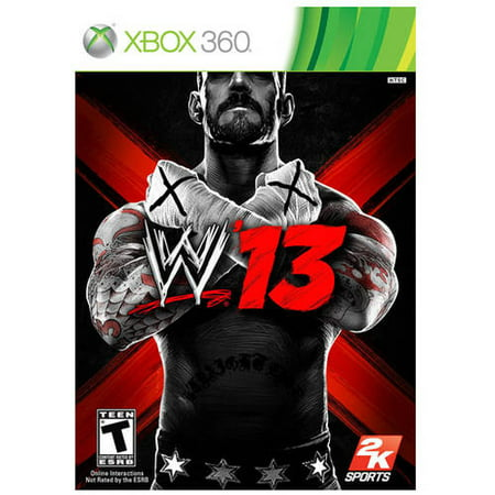 WWE '13 (Xbox 360) - Pre-Owned
