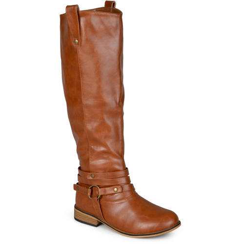 Brinley Co. Women's Mid-calf Riding Boots