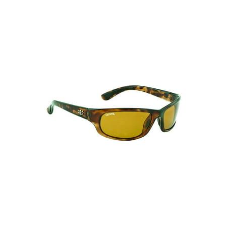 Calcutta Steelhead Sunglass Tortoise Frame/Amber Lens, SH1ATORT ()
