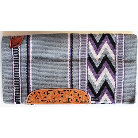 34x36 Horse Wool Western Show Trail SADDLE BLANKET Rodeo Pad Rug Tack
