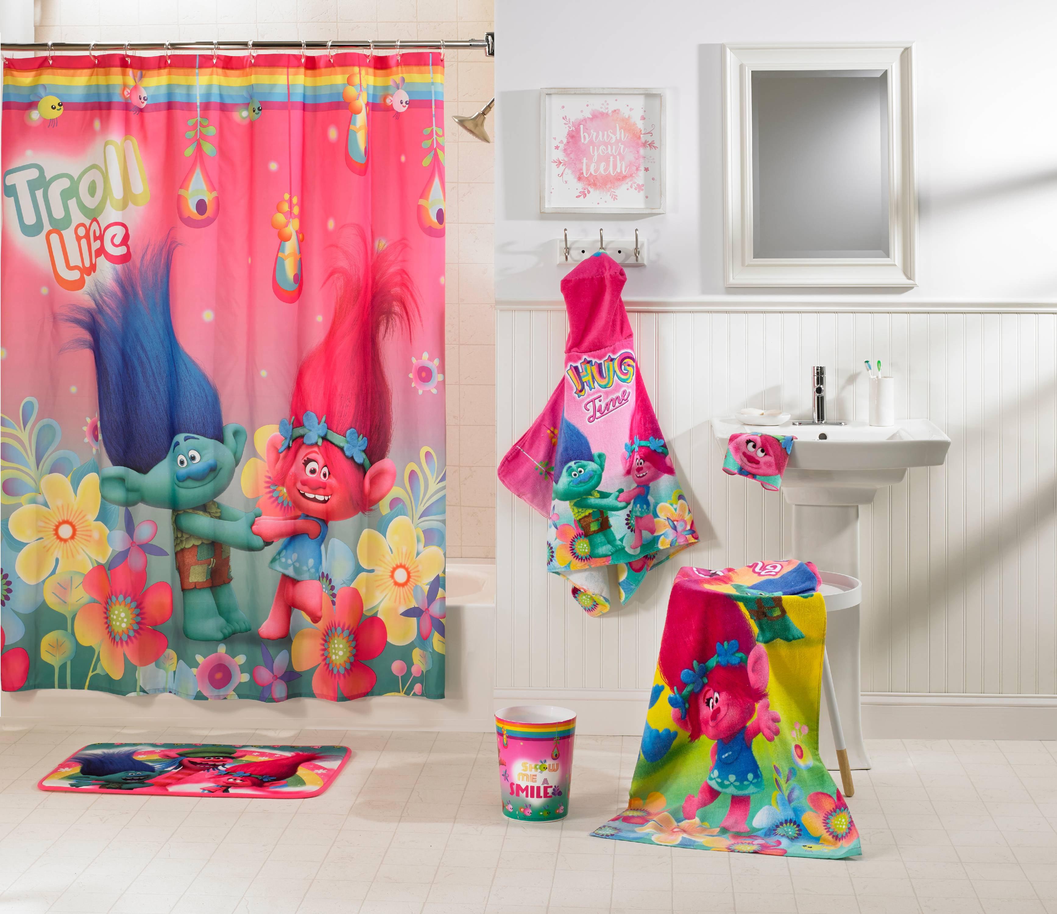Trolls Kids 5 Piece Bathroom In A Bag