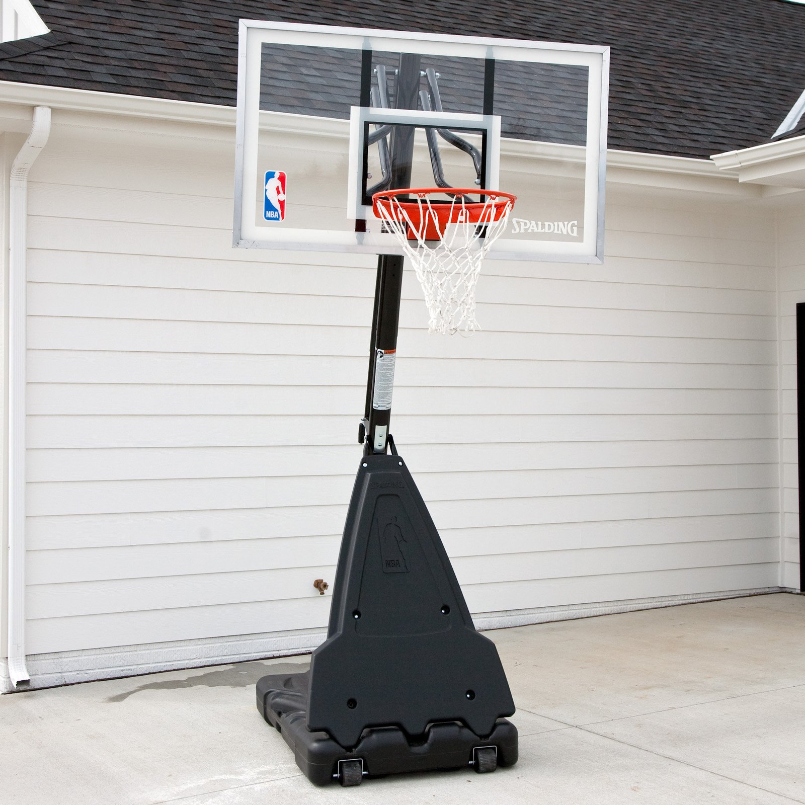 """Spalding 68564 54"""" Acrylic Portable Basketball System by Spalding"""