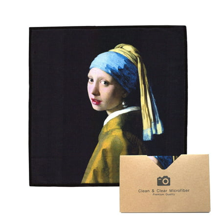 EXTRA LARGE [4 Pack] Classic Art (Johannes Vermeer