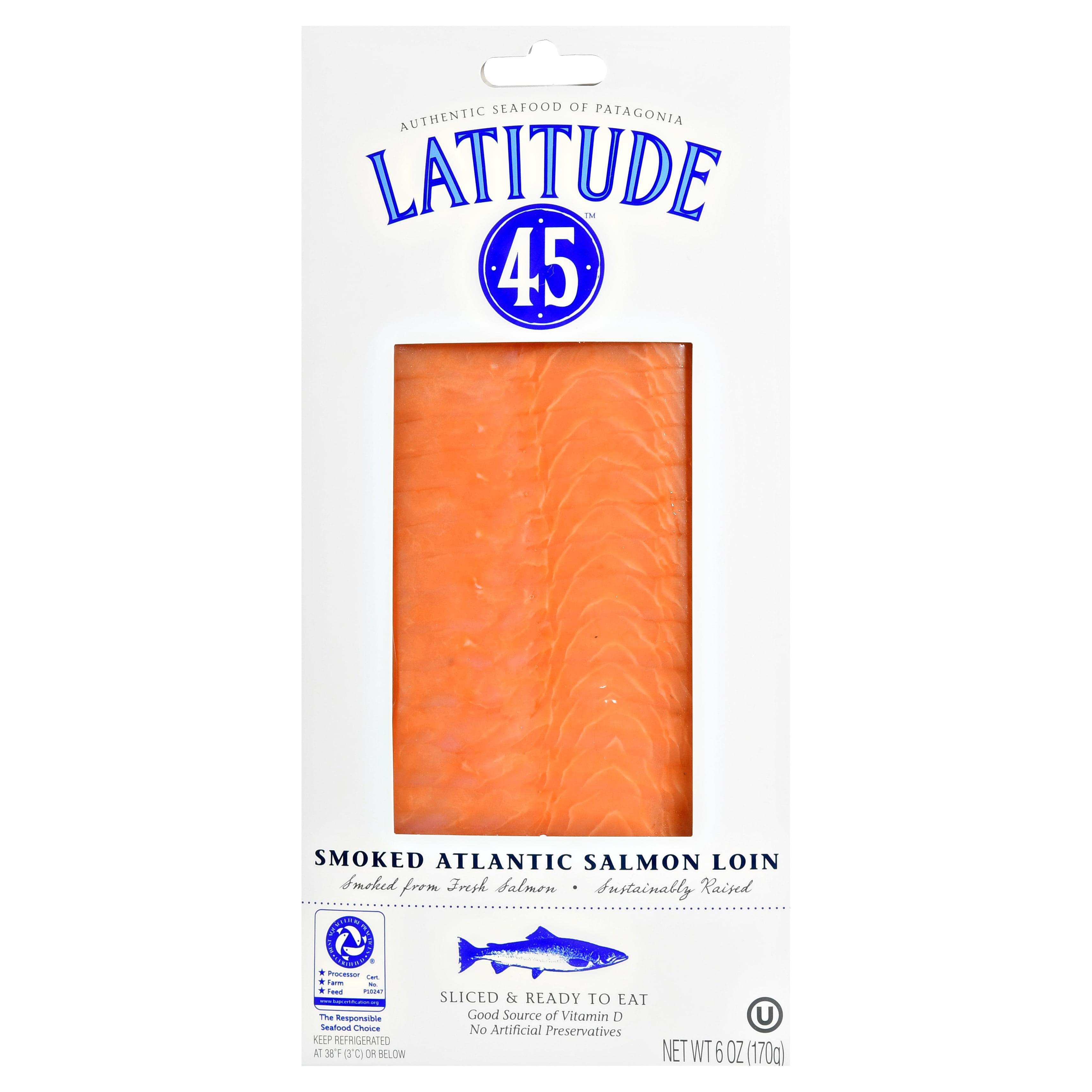 Latitude 45 Smoked Atlantic Salmon Loin 6oz
