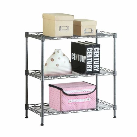 Tremendous Noroomaknet Kitchen Storage Racks Shelves Concise 3 Layers Carbon Steel Pp Storage Rack Black Walmart Com Download Free Architecture Designs Rallybritishbridgeorg