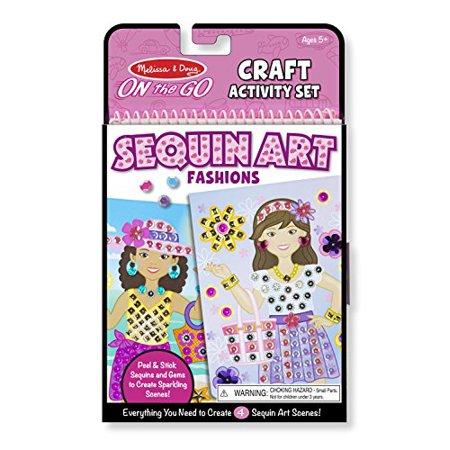 Melissa & Doug On-The-Go Crafts Fashion Sequin Art - image 4 de 4